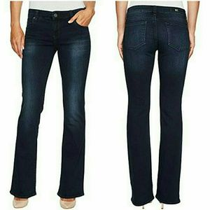 Kut from the kloth dark wash boot cut jeans